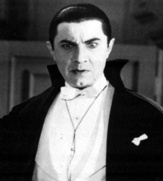 Vampires got a bit more refined when Bela Lugosi took to the screen. He's still not exactly a pinup boy, but he has a certain exotic allure.