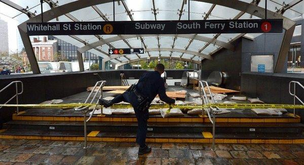 Hurricane Sandy has New York shut down