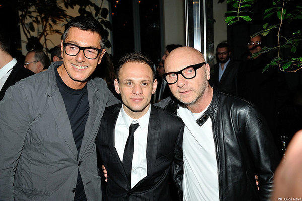 Stefano Gabbana, left, and Domenico Dolce, right, are going on trial for alleged tax evasion in Italy.