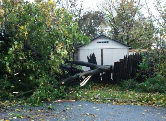 Sandy hits the Lehigh Valley