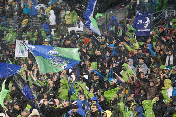 The Seattle Sounders drew a Major League Soccer-record of 43,144 fans per game to Century Link Field this season.