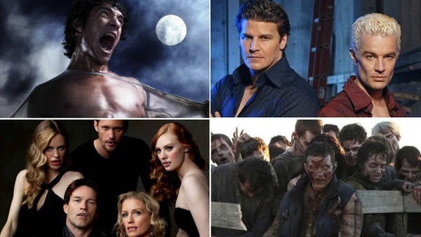 Monstrous evolution: Vampires, werewolves, witches and zombies on film and on TV: Halloween is the time to celebrate the fiendish creatures and horrifying beasts that haunt our nightmares ... but Hollywood doesnt always play along. Sure, you can find plenty of horrible monsters to chill your blood, but youll also that archetypical fiends have gotten softer as time goes by. First, theyre fearsome. Then, they get funny. And finally, they turn into love interests -- even though they should be devouring hearts, not breaking them.   Vampires, werewolves, witches and even zombies have gotten the extreme makeover treatment courtesy of Hollywood. See how the monsters that used to be nightmare fodder morphed into creatures that inspire very different sorts of dreams.