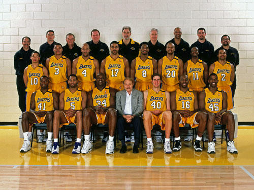 <b>1999-2000 Lakers</b><br> <br> <u>67-15, First in Pacific Division</u><br> <br