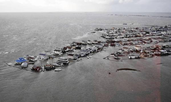 Photos: Hurricane Sandy: Homes along the southern New Jersey coastline are inundated with water after Hurricane Sandy made its ways through the area.