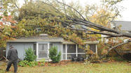 Superstorm Sandy hits Towson [Pictures]