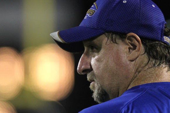Former coach Stan Sexton won't be on the sideline for Thursday's Hampton-Phoebus game.