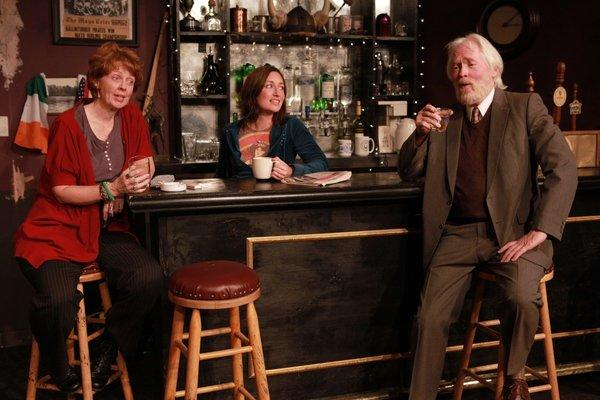 """The Muesli Belt"" at Theatre Banshee with, from left, Kathleen M. Darcy, Lisa Dobbyn and Ian Patrick Williams."