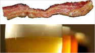 Enjoy pork and brews at two upcoming beer dinners, each featuring bacon as the main attraction.