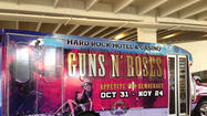 Guns N' Roses Vegas ads reuse controversial image for upcoming gigs