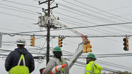 BGE works to restore power to thousands of residents