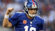 <strong>1. Giants (1 last week):</strong> How would an Eli Manning-Peyton Manning Super Bowl strike you?