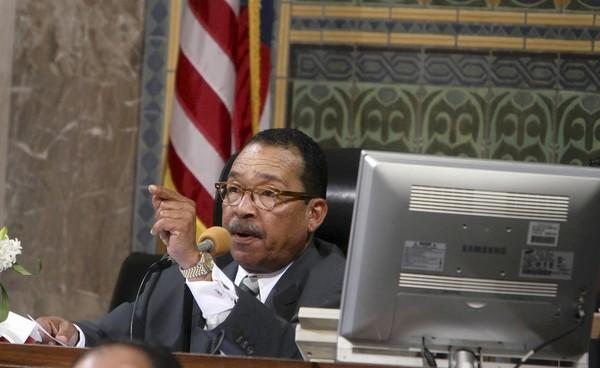 "Los Angeles City Council President Herb Wesson says: ""We've cut just about everything that we can cut."""