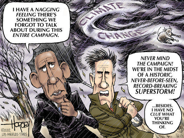 Obama and Romney ignore the challenge of climate change