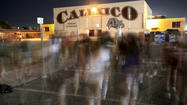 Calexico High School senior Andrea Vizcarra doesn't like to be alone at the school at night.