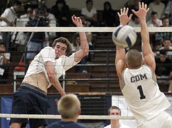 Newport Harbor High's Kevin Rakestraw, left, has verbally committed to play at Stanford.