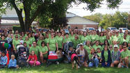 Citi of Hagerstown shone as the Mason Dixon Heart and Stroke Walk's top team and top sponsor.