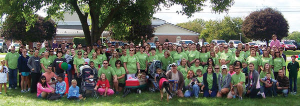 Citi of Hagerstown had the top team and was the top sponsor at the the Mason Dixon Heart and Stroke Walk on Sept. 23 in Greencastle, Pa. More than 750 walkers turned out for event, which is expected to raise $146,700 for the American Heart Association.