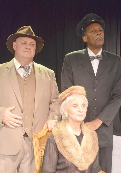 "Ken Clement, from left, Harriet Oser and John Archie star in ""Driving Miss Daisy"" at the Plaza Theatre in Manalapan."