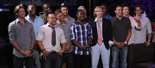 "These bachelors are competing in Season 4 of Oxygen's ""Love Games,"" premiering Nov. 5."