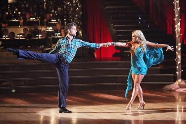 Tuesday night was a horrible case of deja-vu for Sabrina Bryan, shown with her partner, Louis Van Amstel. Bryan was, once again, ousted in Week 6 of the dancing competition.