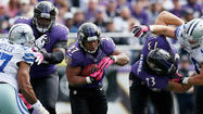 Five Ravens stats that stand out: Week 9