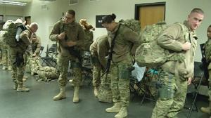 Springfield-based Military Police unit deploys for Afghanistan