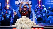 North Laurel native Greg Merson wins the 2012 World Series of Poker