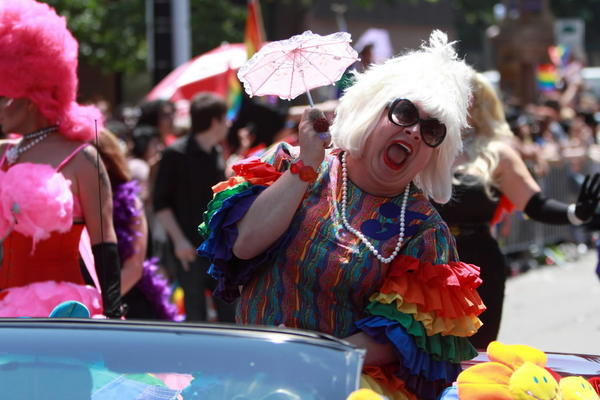 Miss Foozie at the 2011 Pride Parade.