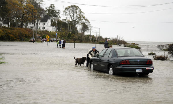 Hurricane Sandy has closed schools and dealt many other blows to the state. The CIAC has reacted by changing the postseason schedule.