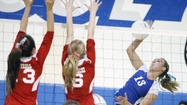 Photo Gallery: Burbank vs. Burroughs girls' volleyball