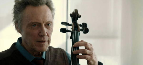 "Christopher Walken stars in ""A Late Quartet."""