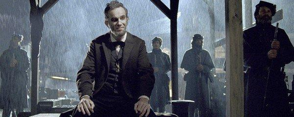 "Daniel Day-Lewis plays the starring role in ""Lincoln,"" Hollywood's first feature film on the president in 70-plus years."