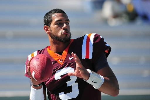 Virginia Tech quarterback Logan Thomas and the Hokies' offense have a chance to grow against Miami's weak defense.