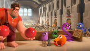 """Wreck-It Ralph,"" the exhaustingly dazzling new Walt Disney Animation Studios feature, qualifies as the most manic baby sitter in town, clever and detailed in its kaleidoscopic depiction of the private lives, seething resentments and yearning dreams of video game characters both ""Donkey Kong"" retro and ""Call of Duty"" modern."