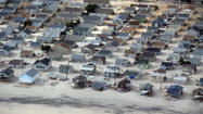 Aerial images of Sandy's destruction