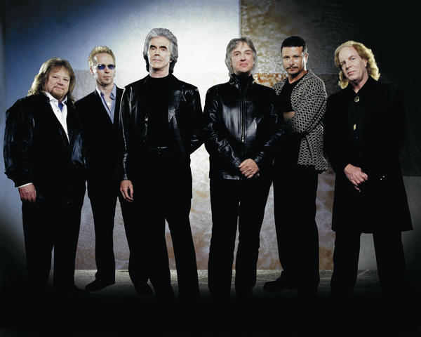 Three Dog Night will perform Friday, Nov. 2, at H. Ric Luhrs Performing Arts Center in Shippensburg, Pa. The band is, from left, Michael Allsup, Paul Kingery, Danny Hutton, Cory Wells, Pat Bautz and Jimmy Greenspoon.
