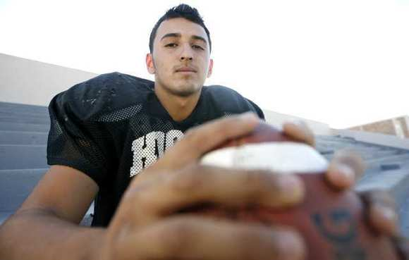 Hoover High fullback Jesse Pina has returned to a large role with the Tornadoes football team in his senior season.