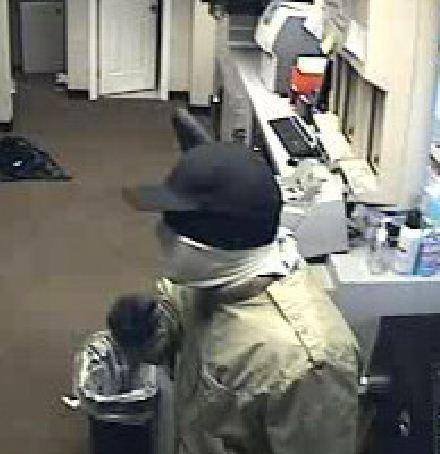 FBI is searching for the masked gunman suspecting of robbing a Chase Bank in Oakland Park and a Bank of America in Fort Lauderdale.