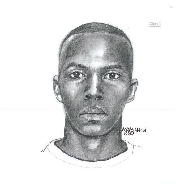 FBI sketch of man suspected of robbing two Broward banks