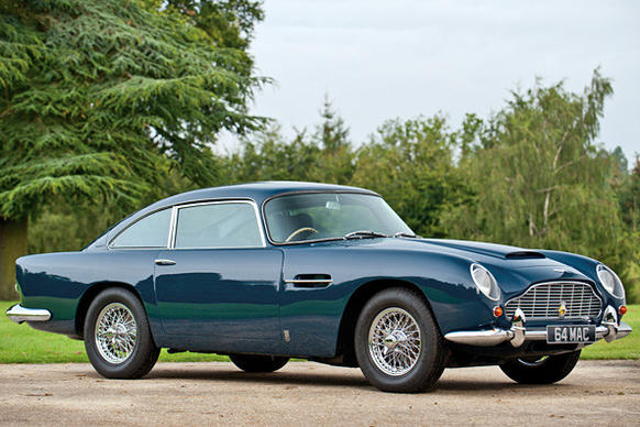 A 1964 Aston Martin DB5 originally owned by former Beatle Paul McCartney sold Wednesday at an auction in London for a hammer price of $496,613.