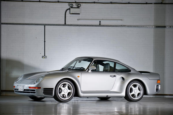 "Finally, a personal favorite of Highway 1 was also sold at RM's London auction. A rare 1988 Porsche 959 ""Komfort"" sold at a hammer price of $444,000."