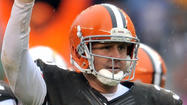 As Cleveland Browns quarterback Brandon Weeden watched the game tape from his team's Week 4 matchup against the Ravens at his house on Tuesday night, he couldn't believe what he was seeing on his iPad screen.