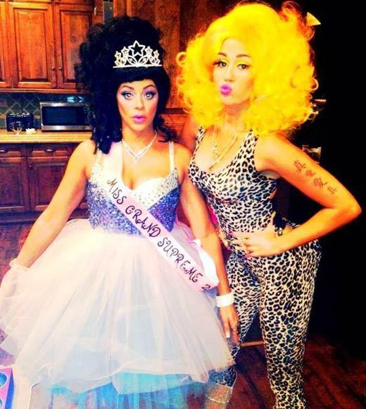 Celebrity Halloween costumes 2012: Miley Cyrus