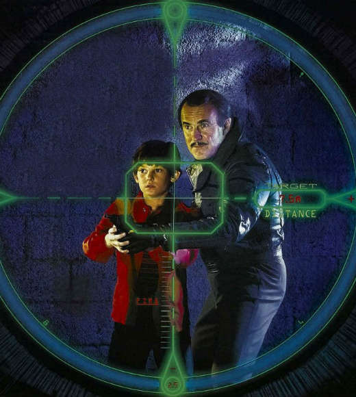Spy games meet video games in this flick from 1984, which takes a kid obsessed with an espionage game, adds in real spies, and sprinkles in father and son reconciliation to boot. Henry Thomas of 'E.T.' fame plays the game-obsessed kid, whose unfortunate habit of getting immersed in the fantasy world means no one believes him when he witnesses a very real murder and is entrusted with ... a video game cartridge containing military secrets.