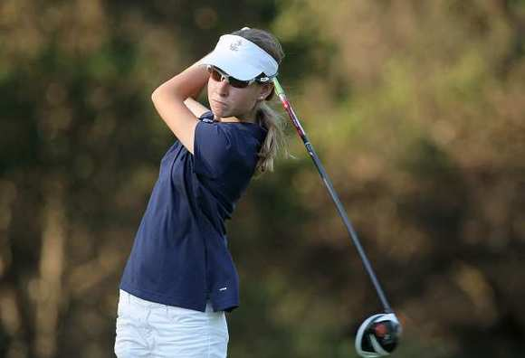 Newport Harbor High freshman Grace Ferrell finished tied for third in the Sunset League finals.
