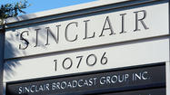 Sinclair Broadcast Group Inc. saw its profit grow 33 percent in the third quarter as political campaigns and automakers ramped up spending on advertising, the Hunt Valley-based company said Thursday.