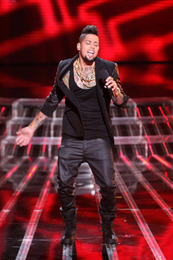David Correy on X Factor