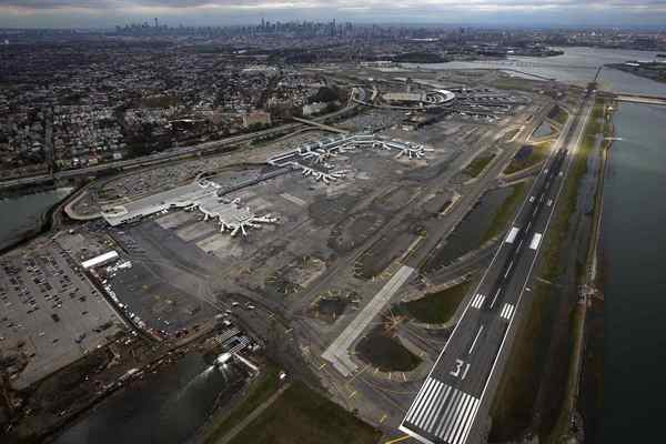 LaGuardia Airport in New York City closed to traffic after Hurricane Sandy. The New York area's John F. Kennedy and Newark airports reopened after thousands of flights had been canceled, leaving travelers stuck for days. LaGuardia, a third major airport, was scheduled to reopen on Thursday.