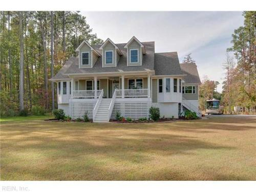 This home at 52 Brickhouse Road, Poquoson, is on the market for $694,900.