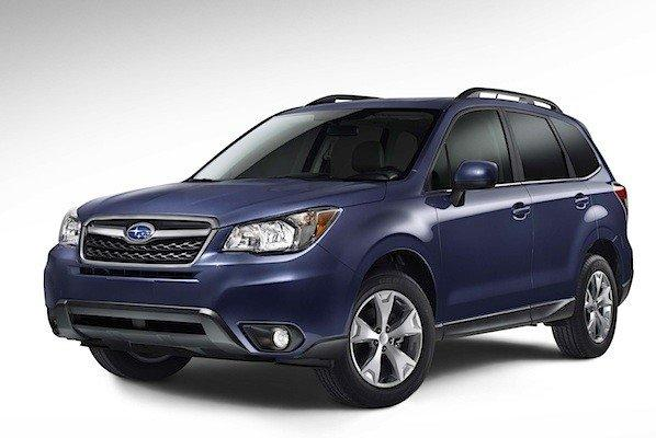 Subaru released this image of its 2014 Forester, which will make its official debut at the 2012 L.A. Auto Show.